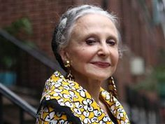 """Joyce Carpati, 80, doesn't worry about looking her age. """"I don't try to look young, and I don't want to look young,"""" she said. """"I want to look terrific."""" Please, let me have her outlook as I age."""