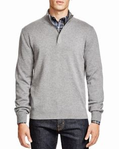 BOSS HUGO BOSS Enricco Quarter Zip Sweater - Bloomingdale's Exclusive | Bloomingdale's