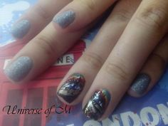 Rainbow eyes nails ~ Universe Of M Rainbow Eyes, My Nails, Universe, Beauty, Beleza, Outer Space, The Universe, Space