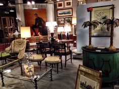High Point and the Antique and Design Center... Incredible! Antiques and Vintage designs are everywhere! I'm set up and selling in booths 34 and 34a at the Antique and Design Center! Hope to see the Style Spotters, too!