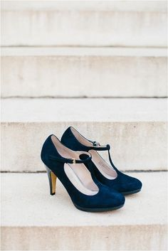 Image result for navy blue cat heels for wedding