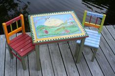 Hey Diddle Diddle - Table and Chairs