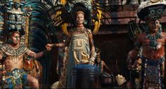 I have REAL problems with the end of Apocalypto- and Mel Gibson in general. But DAMN the costumes were great...