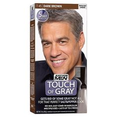 Touch of Gray Haircolor Dark Brown T-45 (Pack of 2) From Just For Men >>> Read more  at the image link.