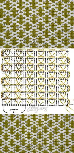 Узор Веселая пчелка | Crochet by Ellej | Crochet by Ellej | Вязание крючком от…