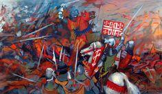 Batalha dos Atoleiros, 6 de Abril de 1384