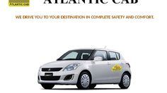 """The concept of """"Atlantic Cab"""" is a unique service for the customers to book the taxis through Mobile App, Website Booking, On Call Booking, and Unique Code Booking."""