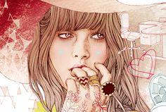 Ëlodie, illustratrice mode freelance * french fashion illustrator based in Paris