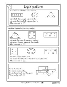 printable logic puzzles for kids pinterest logic puzzles math and brain teasers. Black Bedroom Furniture Sets. Home Design Ideas
