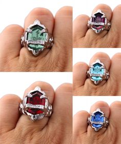 [Visit to Buy] HSIC Fashion Hitman Reborn Ring Anime Rings For Girls Women Valentines Gift Anime Jewelry with Big Stone US 8 HC11688 #Advertisement