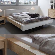 Tiefschlaf-Gefahr – mit dem Hasena Bett Ezzano Bed, Furniture, Home Decor, Products, Wood, Cheap Beds, Deep Sofa, Mattress, Bed Room