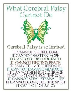 What Cerebral Palsy Cannot Do