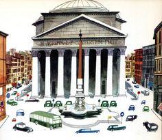 """""""This is Rome"""" - M. Sasek"""
