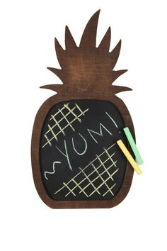 pineapple chalkboard | Cotton On