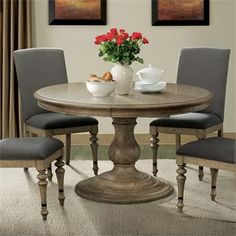 the dining best inch kitchen on sofa wood living room round most fancy pinterest about pedestal id images popular ideas curved of table