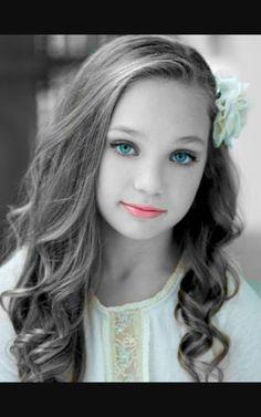 Maddie Ziegler #ColorSplash #Ziegler #PhotoShoot #DanceMoms