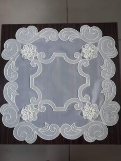 Arte Popular, Lace Making, Table Runners, Embroidery Patterns, Tapestry, Stitch, Christmas, How To Make, Crafts