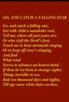 John Donne makes we want to fall in love, or at least read more poetry