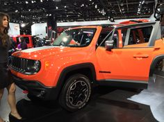 2015 Jeep Renegade at the Detroit Auto Show