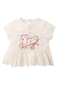 Buy White Embroidered Blouse (3mths-6yrs) from Next Peru
