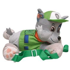 Paw Patrol Rocky Plush Backpack