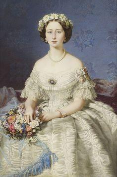 1860 Princess Alice by Eduardo de Moira (Royal Collection) | Grand Ladies | gogm