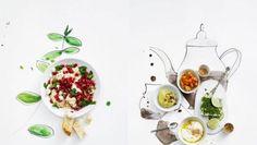 food styling/illustration by dietlind wolf: international antipasti Food Styling, Food Photography Styling, Creative Photography, Web Design, Food Design, Graphic Design, Design Ideas, Wolf Photos, Fabulous Foods