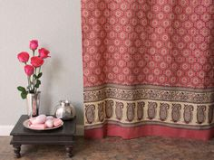 Patterned Shower Curtains : Rooms : HGTV