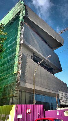 Novo Museu da Imagem e do Som MIS no caminho do mar Copacabana Rio de Janeiro Brasil