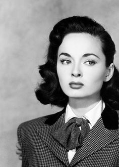 Ann Blyth, she looks deep in thought! Beautiful!