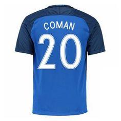 2016-17 France Home Shirt (Coman 20)