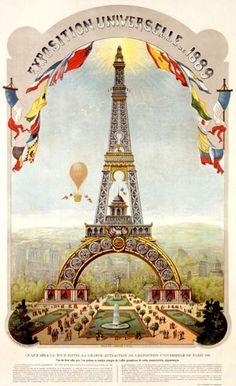 mimbeau:  Paris World Fair 1889 Project of the Eiffel Tower      (via TumbleOn)