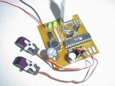 build a USB 6 servo controller