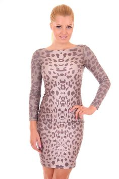 Jacky Luxury jurk in panterprint