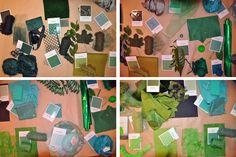 Vorrei parlarvi del verde a partire da questo post per illustrarvi come si può continuare a giocare con il colore. Florence Guiraud – T...