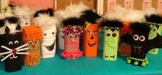 TRICK OR TREAT! Remember to save those crystal light containers to decorate and fill with goodies, mine have fangs, gummy eyeballs and popping candies, FUN!!!!  My neighborhood hayride kids got these little gems!