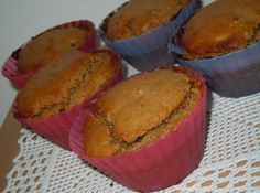 Muffin farina di castagne vegan