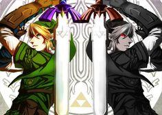 Link & Dark Link