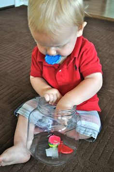 Lots of Montessori ideas for baby play