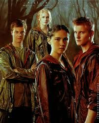The Careers! Clove, Marvel, Cato, and Glimmer!