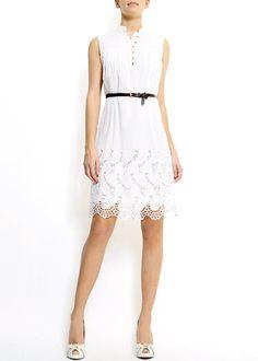 love this white dress...