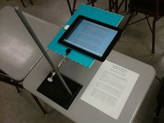 Classroom in the Cloud: 5 Awesome Things You Can Do With an IPad and an LCD Projector (turn into document camera)