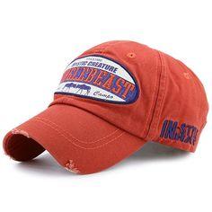 cf1fd8a554175 Accesorios de ropa. Letters Embellished Artificial Abrasion Nostalgic  Baseball Cap - JACINTH Gafas De Sol