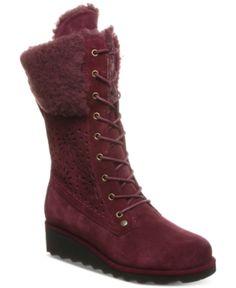 a90d67f6fbc9 Bearpaw Women s Kylie Boots - Purple 11M Boots Online