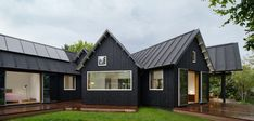 DANISH PITCHED ROOF SUMMER HOUSE BY POWERHOUSE COMPANY (Photos by Åke E. Son Lindman)