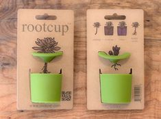 Rootcup - love this simple, elegant solution to growing plant cuttings! Designed by product development firm, good3studio of Michael Good in San Francisco.