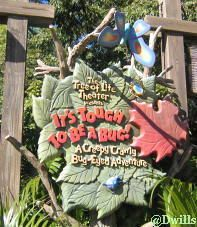Attractions...AK: It's Tough to be a Bug 3D Show