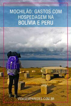 Vai planejar um mochilão na América do Sul? Confira nossos gastos com hospedagem na Bolívia e no Peru e saiba quanto dinheiro separar; gastos mochilão; gastos Bolívia; gastos Peru.