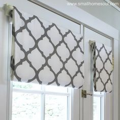 Simple French Door Curtains Easy DIY Tutorial - Girls, DIY Only!Simple French Door Curtains Easy DIY Tutorial - Girls, DIY Trendy bedroom kitchens with French door Trendy French door curtains bedroom kitchens Curtains With Blinds, French Doors Bedroom, Diy Curtains, Door Window Treatments, French Door Curtains, Sliding Door Curtains, Door Curtains Bedroom, Door Coverings, French Door Curtains Diy