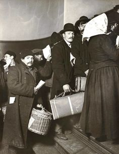 Arriving in America, Ellis Island, New York, 1905